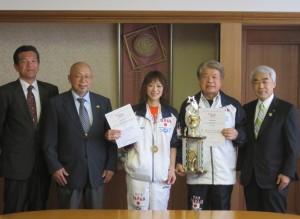 5月12日高岡市長、金森会長と
