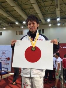 2015アジアベンチプレス(岩崎選手1位)オマーン
