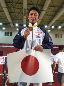 2015アジアベンチプレス大会(芦崎選手1位)オマーン