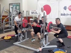 7月24日県体 飯野選手