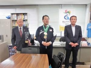 ★5月12日県庁訪問中島選手